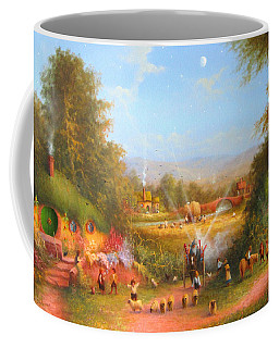 Fireworks In The Shire. Coffee Mug