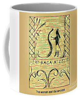 The Woman And The Serpent Coffee Mug
