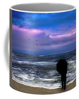 The Woman In Black Coffee Mug