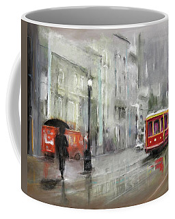 The Woman In The Rain Coffee Mug