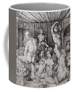The Women's Bath, 1496 Coffee Mug