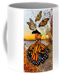 Coffee Mug featuring the mixed media The Wonder Of You by Marvin Blaine
