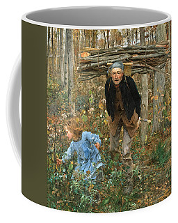 The Wood Gatherer Coffee Mug