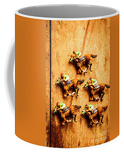 The Wooden Horse Race Coffee Mug