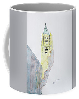 The Woolworth Building Coffee Mug by Keshava Shukla