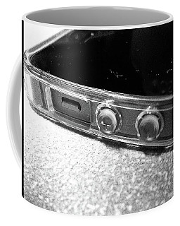 Coffee Mug featuring the photograph The Work Phone by Robert Knight