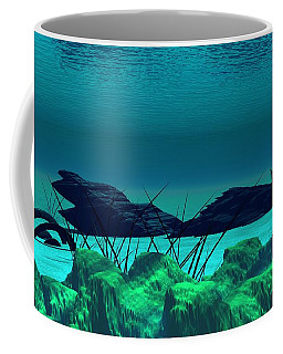 The Wreck Diving The Reef Series Coffee Mug