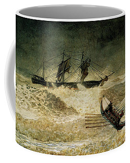 The Wreck Of The Iron Cloud, 1881 Coffee Mug