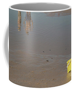 Coffee Mug featuring the photograph The Yellow Bucket by Ana Mireles