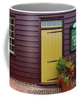 The Yellow Door In Annapolis Coffee Mug