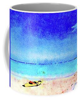 The Yellow Kayak Coffee Mug