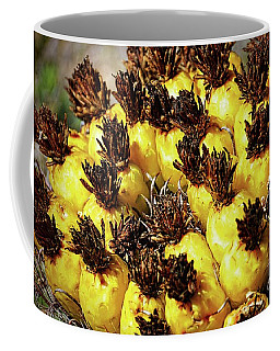 Coffee Mug featuring the photograph The Yellow Ladies by Diana Mary Sharpton