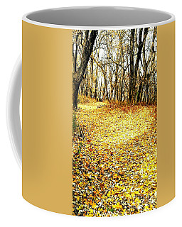 The Yellow Leaf Road Coffee Mug