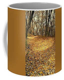 The Yellow Leaf Road- Version II  Coffee Mug