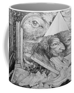 The Zwerg Nase Twins Dreaming Of World Domination Coffee Mug
