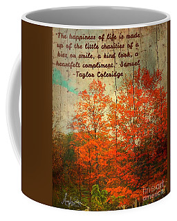 The Happiness Of Life By Taylor Coleridge Coffee Mug