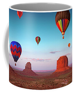 Coffee Mug featuring the photograph Their Dream Flight At Dream Place by William Lee