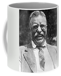 Theodore Roosevelt Laughing Coffee Mug by International  Images