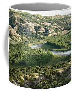 Theodore Roosevelt National Park - Oxbow Bend Coffee Mug