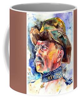 Theodore Roosevelt Painting Coffee Mug