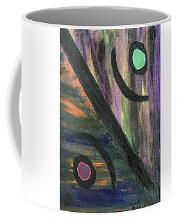 Coffee Mug featuring the painting Therapist's Office by Robbie Masso