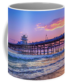 There Will Be Another One - San Clemente Pier Sunset Coffee Mug