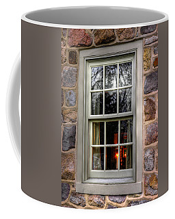 There'll Be A Light In The Windows Until You're Back Home - Poole Forge - Lancaster County Pa Coffee Mug