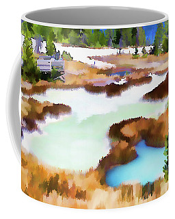 Thermal Pools, West Thumb Ynp Coffee Mug by Greg Sigrist