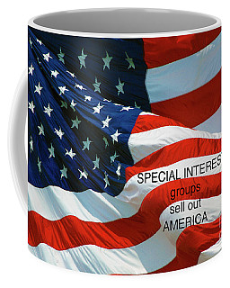Coffee Mug featuring the photograph They Sell Us Out by Paul W Faust - Impressions of Light