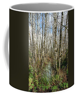 Thickets And Marsh Coffee Mug