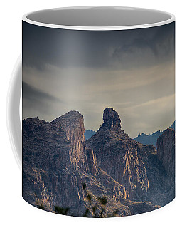 Coffee Mug featuring the photograph Thimble Peak Sunrise by Dan McManus