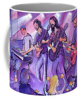 Coffee Mug featuring the painting Thin Air At The Barkley Ballroom In Frisco, Colorado by David Sockrider