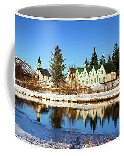 Coffee Mug featuring the photograph Thingvellir Iceland  by Matthias Hauser