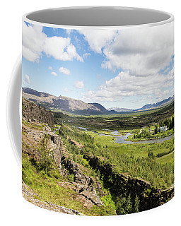 Thingvellir National Park In Iceland Coffee Mug