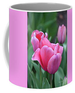 Think Pink In Watercolor Coffee Mug