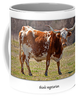 Think Vegetarian Coffee Mug