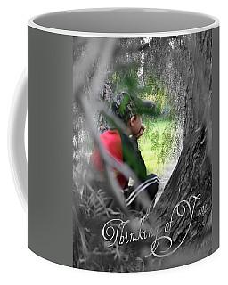 Coffee Mug featuring the photograph Thinking Of You by Amanda Eberly-Kudamik