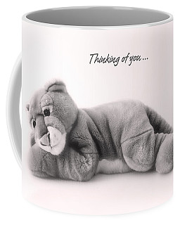 Thinking Of You Coffee Mug by Gina Dsgn