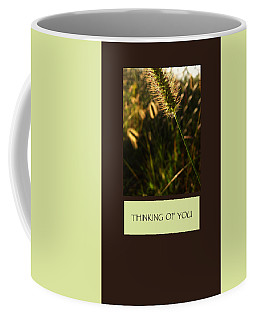Thinking Of You Coffee Mug by Mary Ellen Frazee