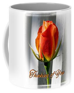 Thinking Of You, Rose Coffee Mug