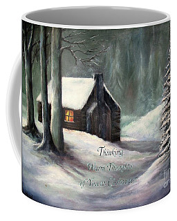 Thinking Warm Thoughts Of You Coffee Mug by Hazel Holland