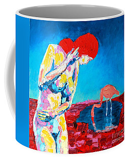 Thinking Woman Coffee Mug by Ana Maria Edulescu