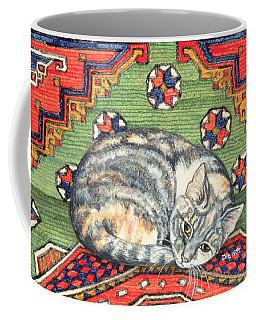 Third Carpet Cat Patch Coffee Mug