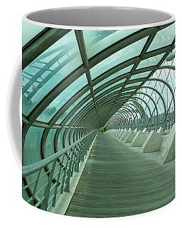 Third Millenium Bridge, Zaragoza, Spain Coffee Mug