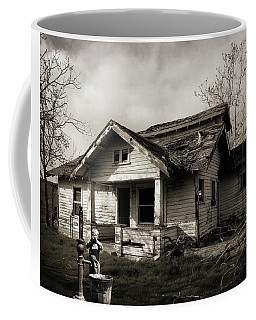 Coffee Mug featuring the photograph Thirsty Boy by Timothy Bulone