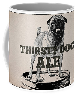 Thirsty Dog Ale Coffee Mug