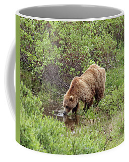 Thirsty Grizzly Coffee Mug