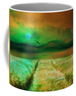 This Golden Earth Coffee Mug by Lenore Senior