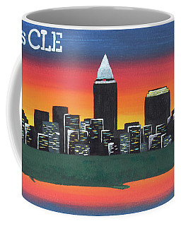 This Is Cle Coffee Mug by Cyrionna The Cyerial Artist