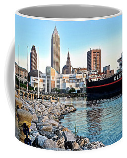 This Is Cleveland Coffee Mug by Frozen in Time Fine Art Photography